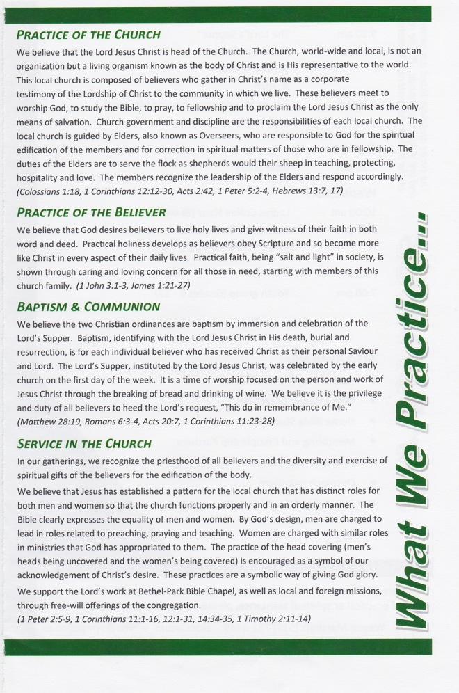 BPBC Practices